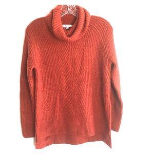 Madewell Cowl Neck Wool Blend Sweater